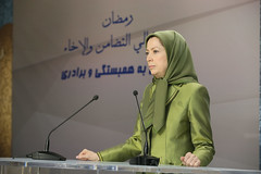Maryam Rajavi at the Ramadan meeting in solidarity with the Syrian Revolution (2)