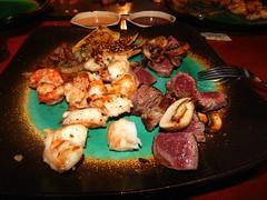 Dinner at  Kimono - Steak - Seafood - Sushi