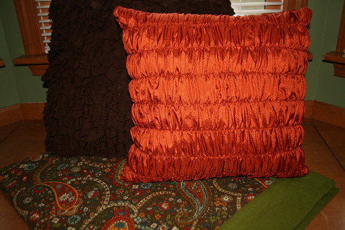 Gathered Pillow