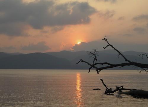 sunset sun india silhouette andamans naturesbeauty