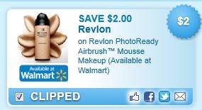 Revlon Photoready Airbrush  Mousse Makeup (available At Walmart) Coupon