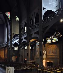 anatole de baudot & paul cottancin, st. jean de montmartre, paris 1894-1904. interior.