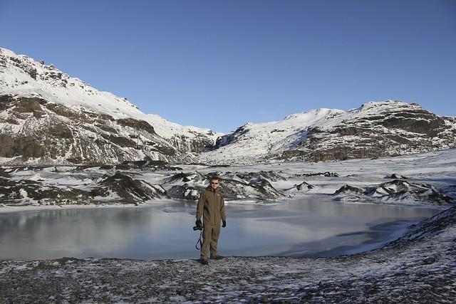 Me at Mýrdalsjökull Glacier