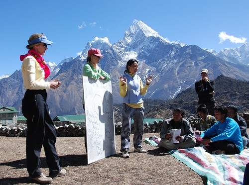 Teaching sherpas