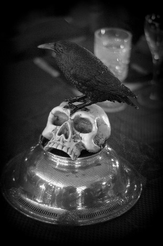 Edgar Allen Poe Party Centerpiece