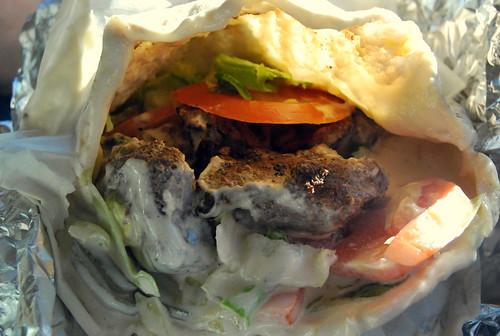 Beyond Pita - beef kebab