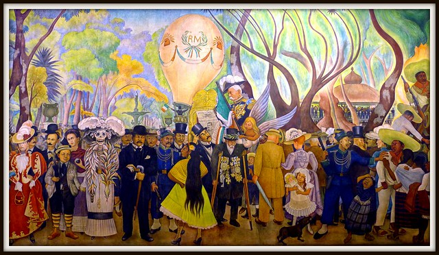 Museo mural diego rivera mexico city flickr photo sharing for Diego rivera lenin mural