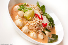 Single Serving Vegetarian Khanom Jeen Nam Ya