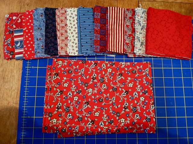 Quilt Squares & Strips ready to go