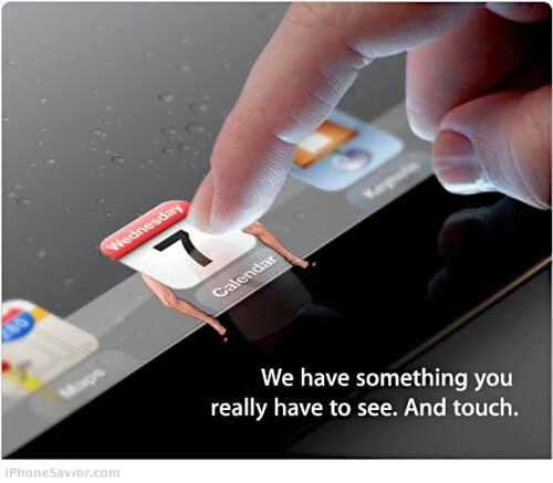 Apple iPad 3 Media Invitation