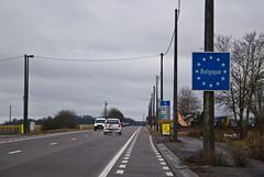 Frontière Luxembourg / Belgique