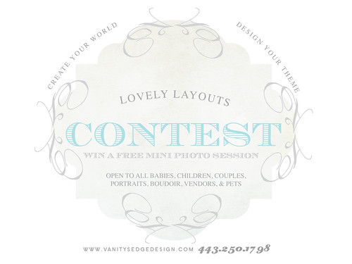 LOVELY LAYOUTS contest