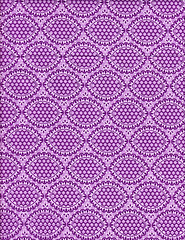 (Purple) Anthology Fabrics Bonjour Oval Eyelet in Purple
