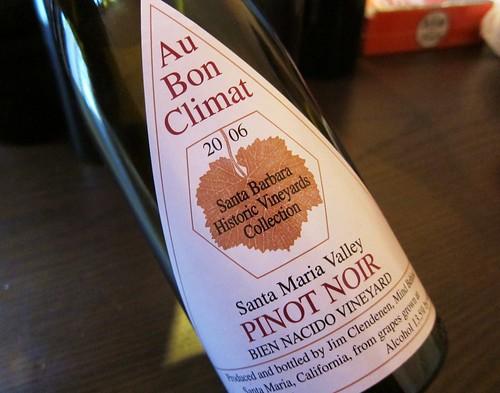 2006 Santa Maria Valley Pinot Noir Bien Nacido Vineyard