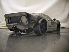 Ford GT metal sculpture