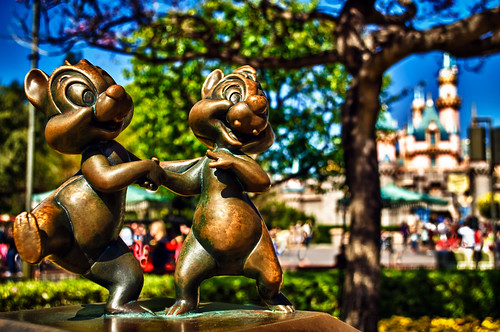 Chip N Dale Move Into Sleeping Beauty's Castle by hbmike2000