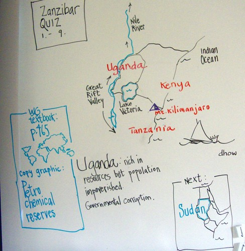 Magnet geography / East Africa  by trudeau