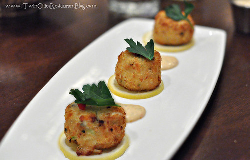 Maryland Crab Cakes at Mystic Steakhouse ~ Prior Lake, MN