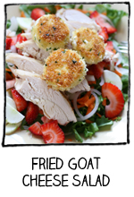 friedgoatcheesesalad