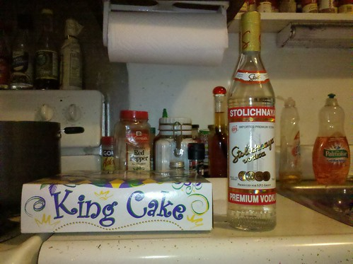 King Cake, Vodka