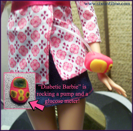So awesome: Diabetic Barbie