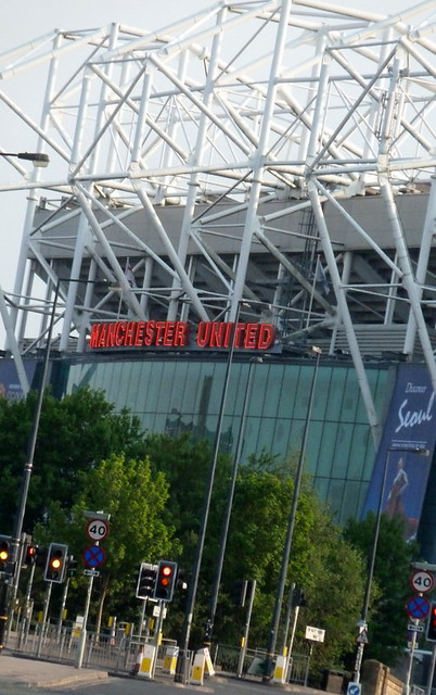 Old trafford home ground of manchester united football club flickr