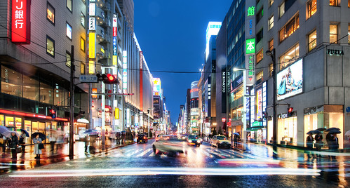 The Endless Night Streets of Tokyo