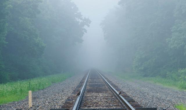 Track mist.