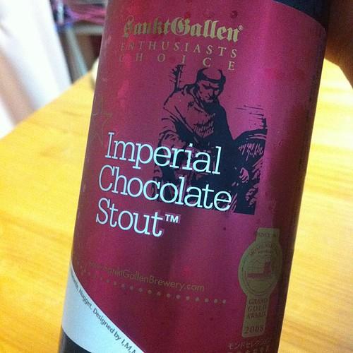 チョコレートスタウトもろた!#beer