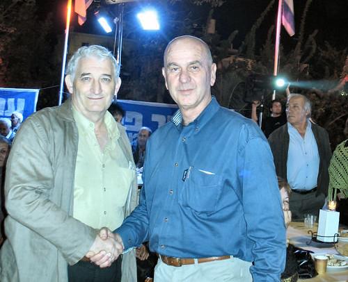 מתן וילנאי במהלך הקמפיין של 2006