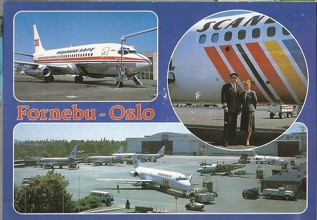 Fornebu Airport Oslo Norway Fornebu Oslo Airport