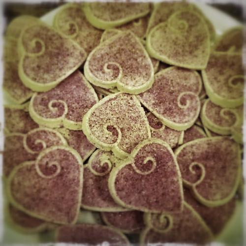 情人节饼干