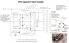 zvs capacitor charger circuit charge your capacitor bank w\u2026 flickrzvs capacitor charger circuit by alex1m6