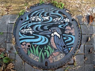 Izumi Osaka manhole cover 2 (大阪府和泉市のマンホール2)