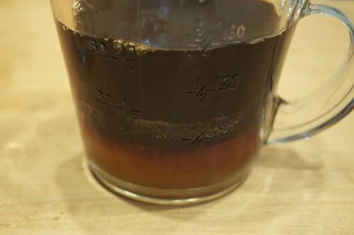 chickpea peanut sauce/water