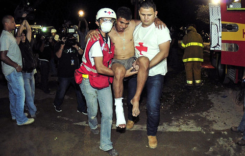 Many people were killed in a prison fire in Honduras. by Pan-African News Wire File Photos