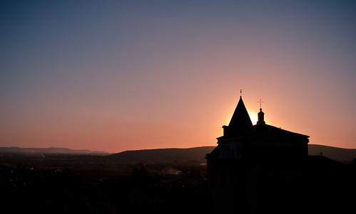 sol atardecer iglesia cruz montaña 365proyectoflickrjiménezpedronognikond3000