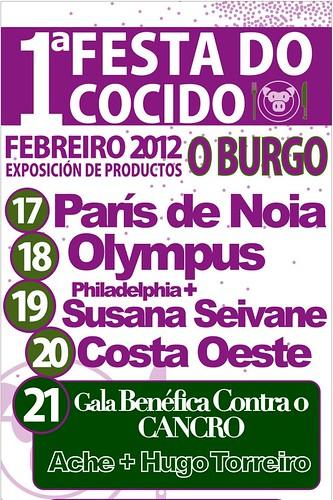 Culleredo 2012 - I Festa do cocido O Burgo - programa orquestras