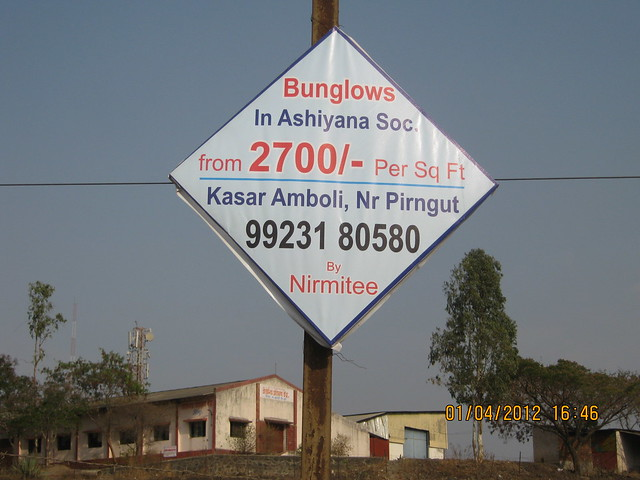 Bungalow from Rs. 2700 per sq.ft. in Ashiyana Society, Kasar Amboli, near Pirangut, Pune 412 108