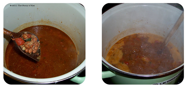 Choose Your Own Adventure Chili—cooking