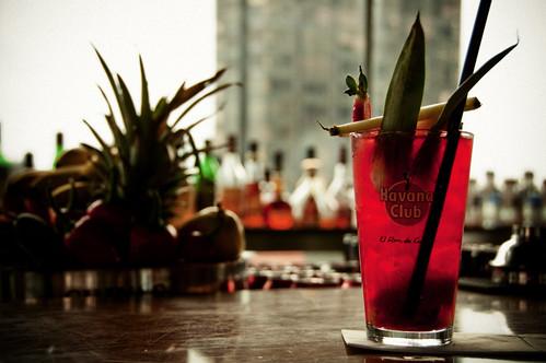 Raspberry and rum