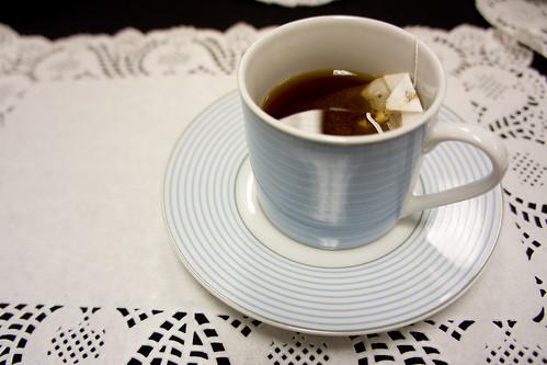 Pさま要了餘下的「公主紅茶」