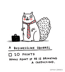 business squirrel