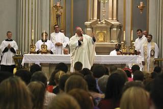 WYD Mass with Archbishop Timothy Dolan