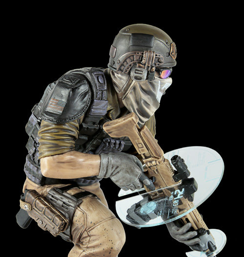 Ghost Recon Future Soldier First Official Figurine By Ubisoft