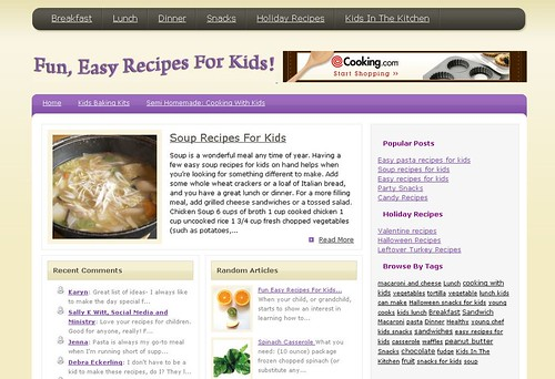 Fun Easy Recipes for Kids by totemtoeren