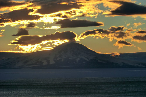 Mount Discovery, Antarctica Sunset