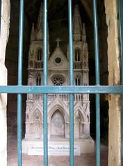 Septmonts (château) maquette Abbaye St-Jean-des-Vignes 6113