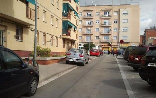 Coches barrio Espronceda incivismo