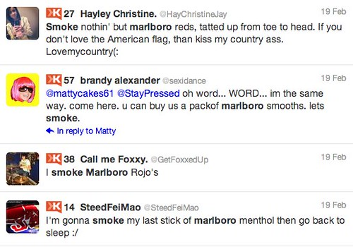 Twitter / Search - smoke marlboro - All Tweets